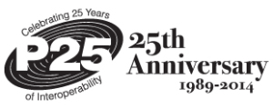 P25 Anniversary Logo
