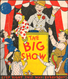 """The Big Show"" children's circus book"