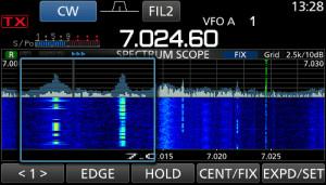 IC-7300 Spectrum Scope